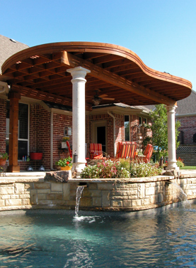 Dallas Outdoor Living Structures Plano Landscape Lighting