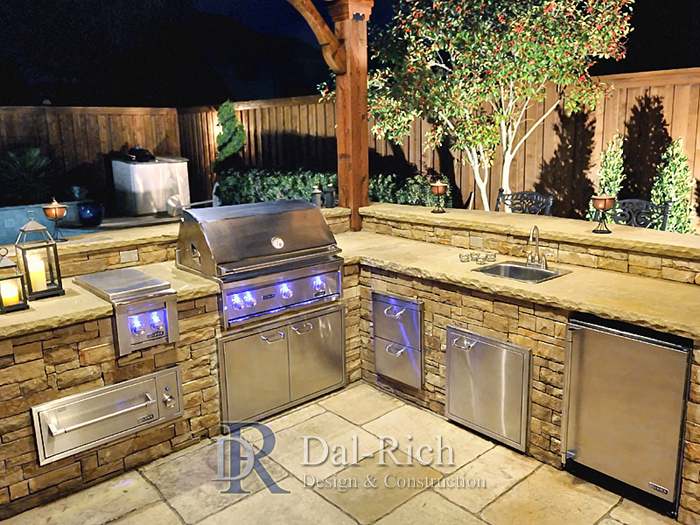 Dallas Landscape Architects, Outdoor Kitchens, Fireplaces ...